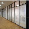 西青区专业安装玻璃门,定做铝合金玻璃隔断